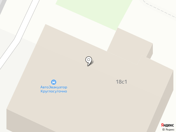Автокомплекс на карте Ульяновска