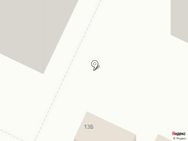 У Дома на карте Ульяновска