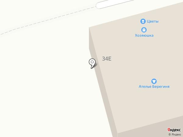 Текстиль-Софья на карте Ишеевки