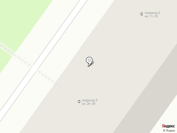 Янтарь на карте Ульяновска