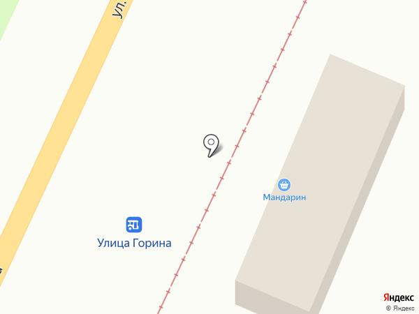 Мандарин на карте Ульяновска