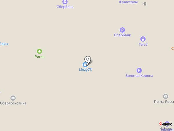 Магнит на карте Ульяновска