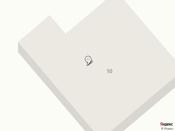 Ишеевский камень на карте Ишеевки