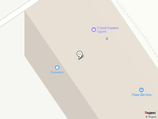 Магазин автотоваров на карте Ульяновска
