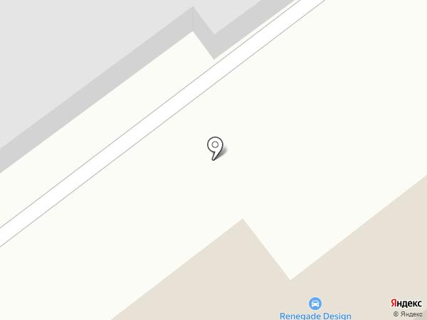 Ренегейд-Дизайн на карте Ульяновска