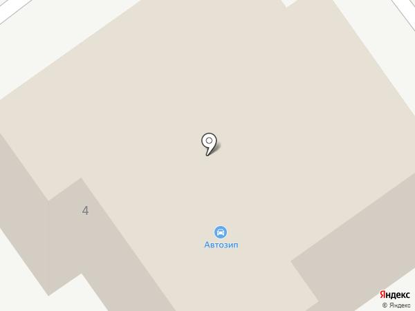 Фирма Автосеть на карте Ульяновска