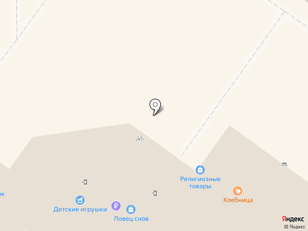 Магазин одежды на карте Ульяновска