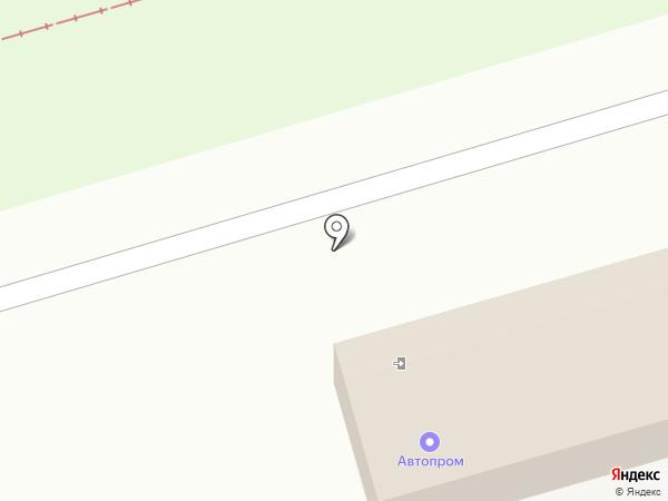 Автопром на карте Ульяновска