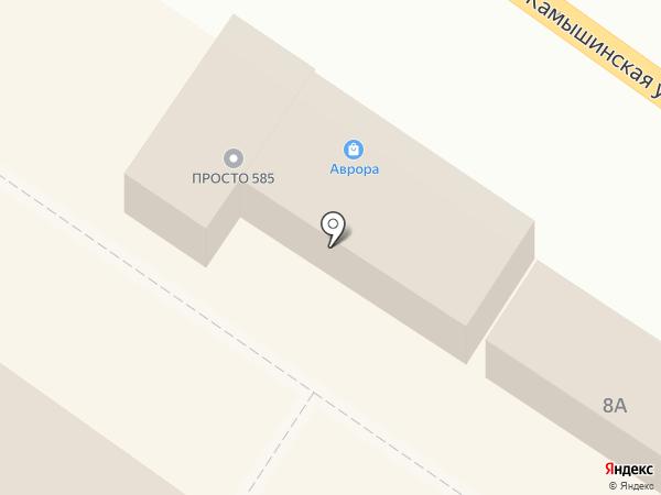 Флюр на карте Ульяновска