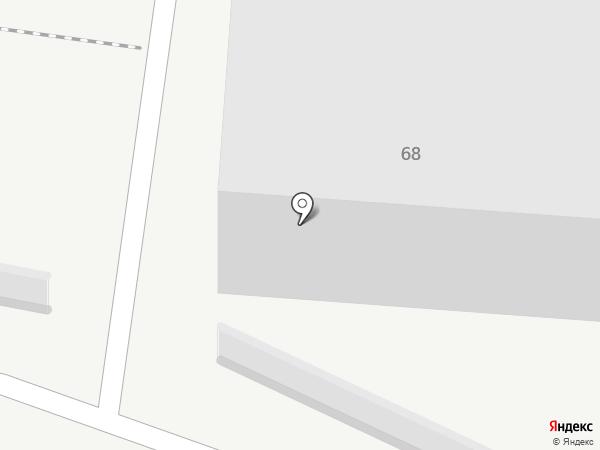 Акация на карте Ульяновска