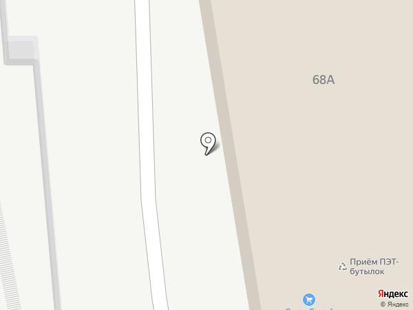 Оптовый склад автозапчастей для УАЗ на карте Ульяновска