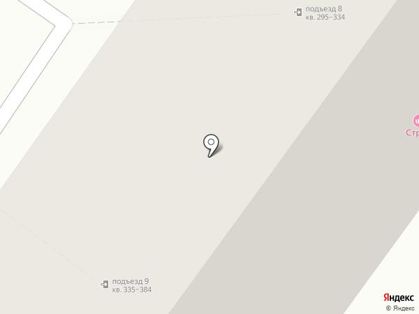 Стриж на карте Ульяновска