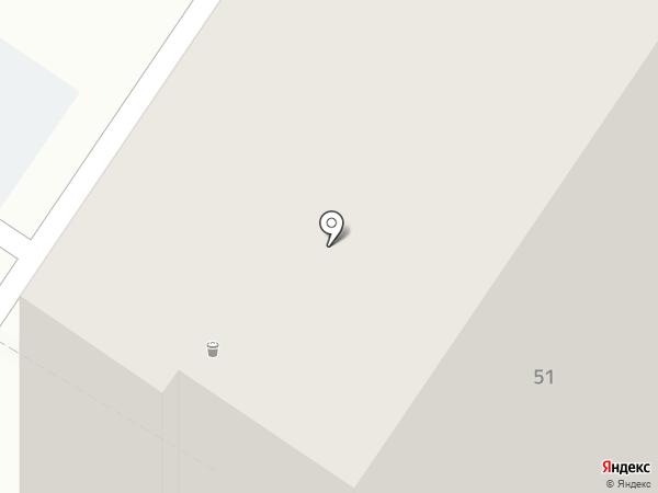ДЭРИЯ на карте Ульяновска