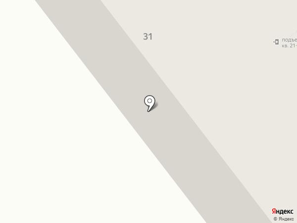 Строитель на карте Ульяновска
