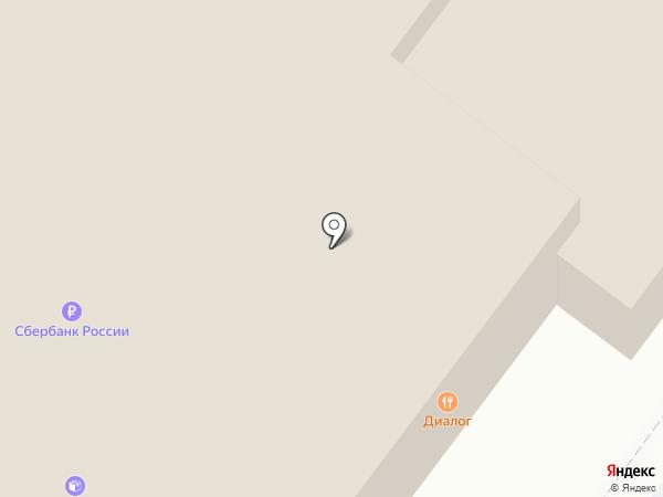 Диалог на карте Ульяновска