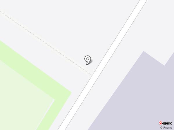 Корица на карте Ульяновска