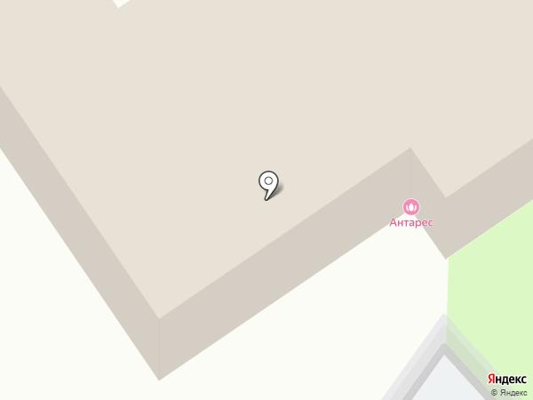 Антарес на карте Ульяновска