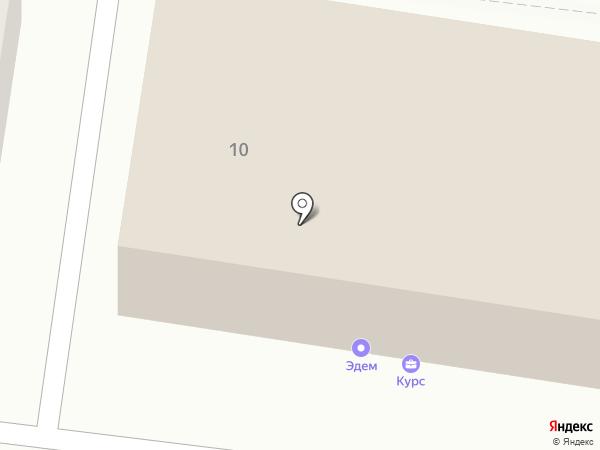 Блик на карте Ульяновска