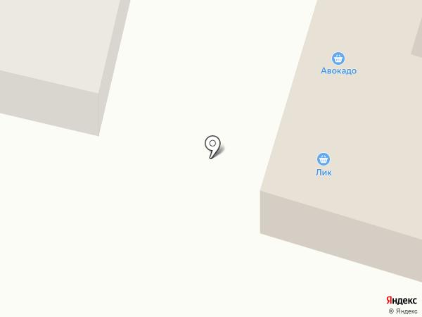 Лик, ЗАО на карте Волжска