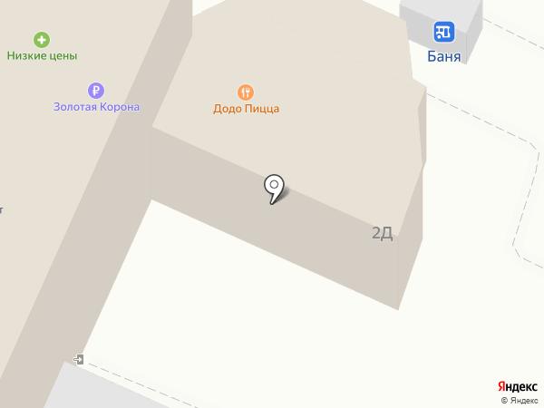 Лёва на карте Ульяновска