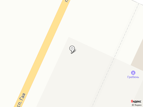 Гребень на карте Ульяновска