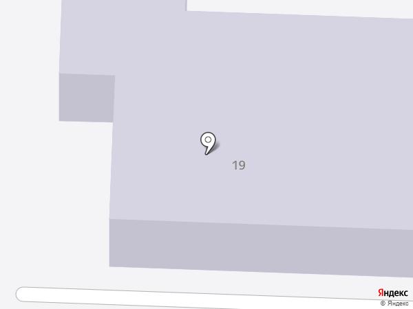 Детский сад №115 на карте Ульяновска