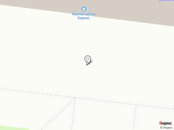Карекс на карте Ульяновска