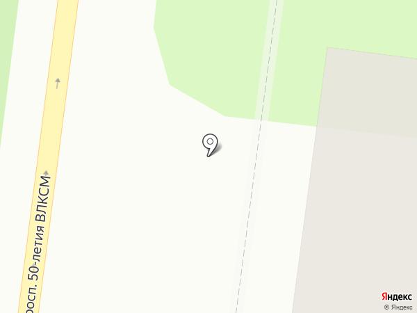 Магазин сантехники на карте Ульяновска