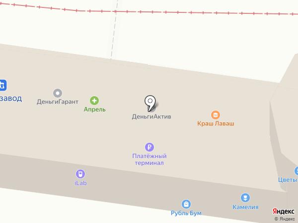 Гарлинг на карте Ульяновска