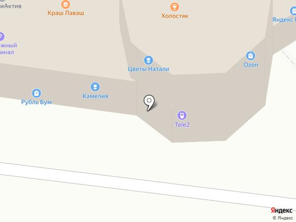 Ермолинские полуфабрикаты на карте Ульяновска