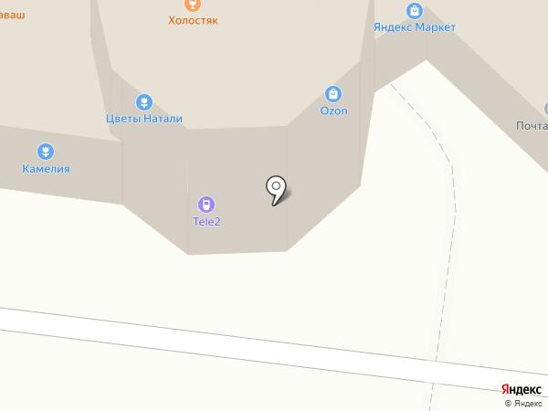 Малахит на карте Ульяновска