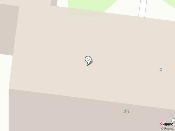 Отдел назначения детских пособий по Засвияжскому району на карте Ульяновска