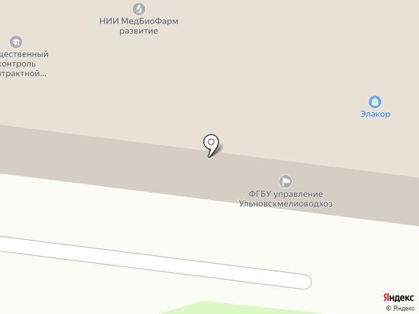 Автозвук на карте Ульяновска