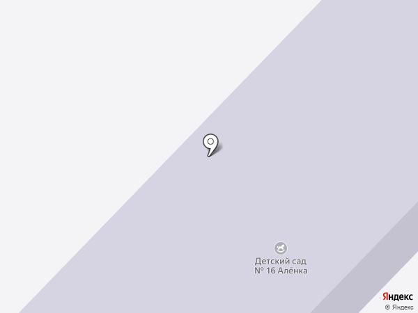 Детский сад №16, Аленка на карте Волжска