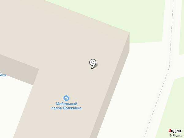 Домостройка на карте Волжска