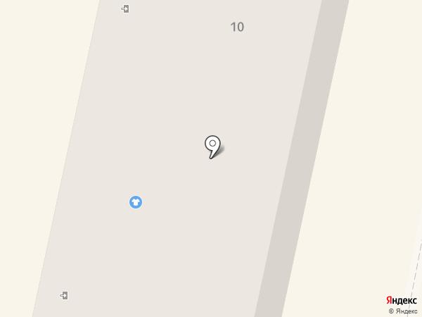 Магазин мяса на ул. Дружбы на карте Волжска