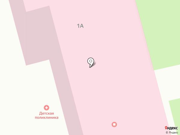 Детская поликлиника, ЦГБ на карте Волжска