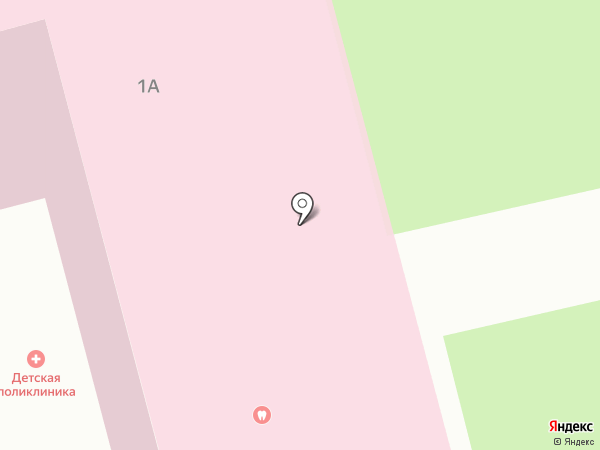 Стоматологическая поликлиника на карте Волжска