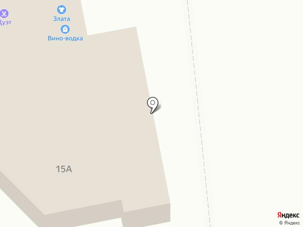 Злата на карте Волжска