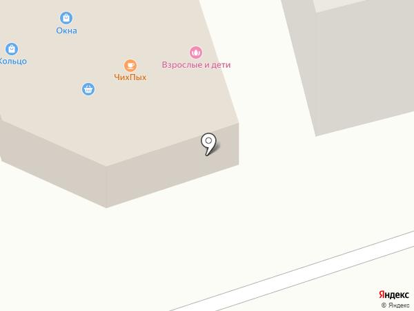 Кольцо на карте Волжска