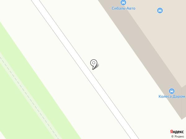 Сибаль-Авто на карте Ульяновска