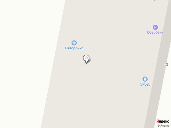 Фреска на карте Волжска