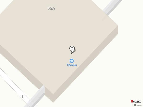Тройка на карте Волжска