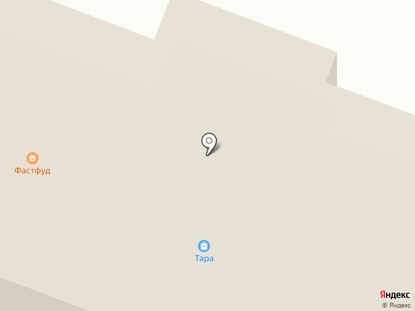 Тара на карте Волжска