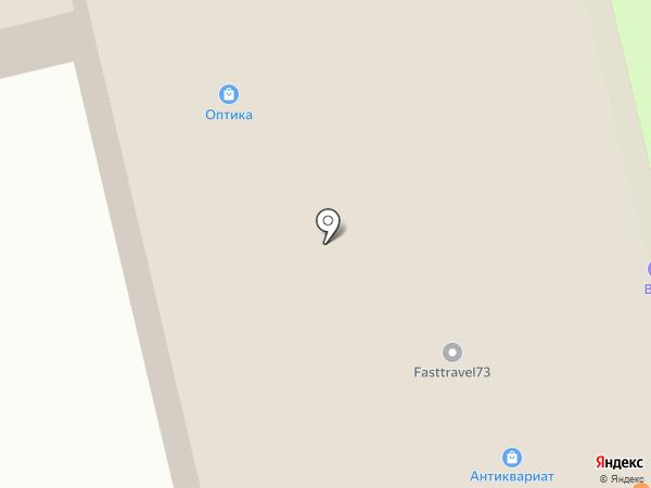 Инросс на карте Ульяновска