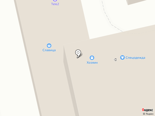 Эгоистка на карте Ульяновска