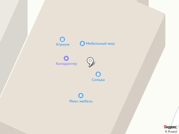 Кнопик на карте Волжска