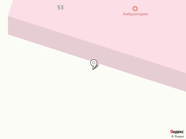 Помарская врачебная амбулатория на карте Помар