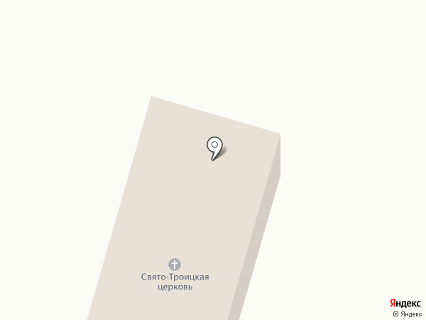 Храм Святой Троицы на карте Помар
