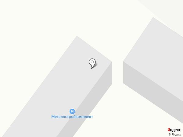 Металлстройкомплект на карте Волжска